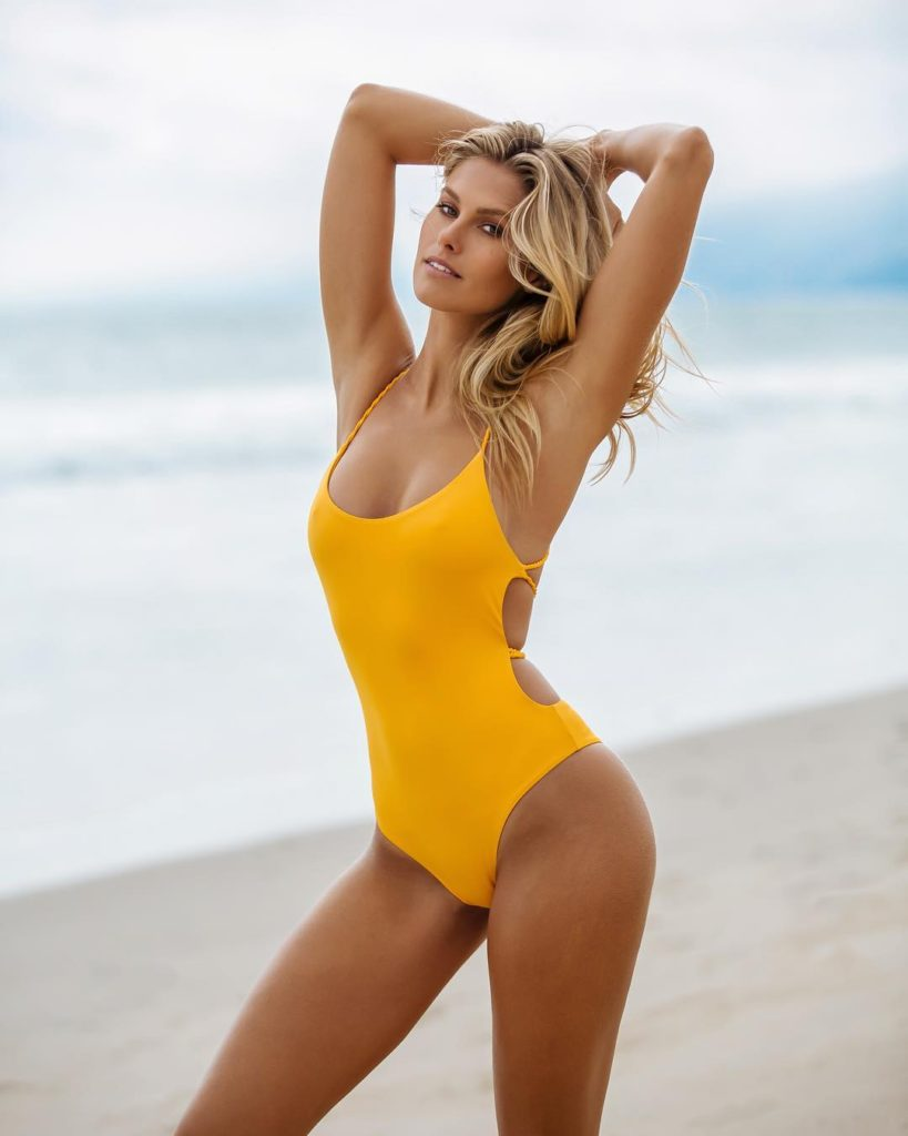 Natalie Jayne Roser Hot Yellow Swimwear Pics 819x1024 - Natalie Jayne Roser Net Worth, Pics, Wallpapers, Career and Biograph