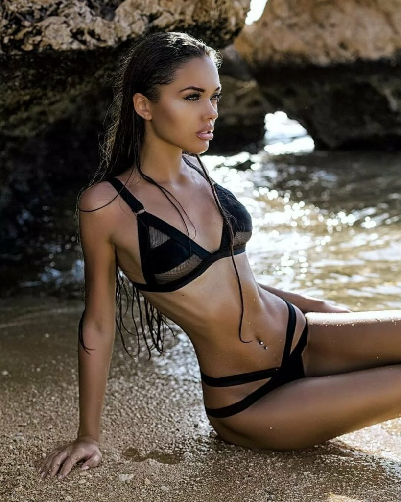 Bikini Modeling Natalie Danish By The Sea 819x1024 - Natalie Danish Net Worth, Pics, Wallpapers, Career and Biography