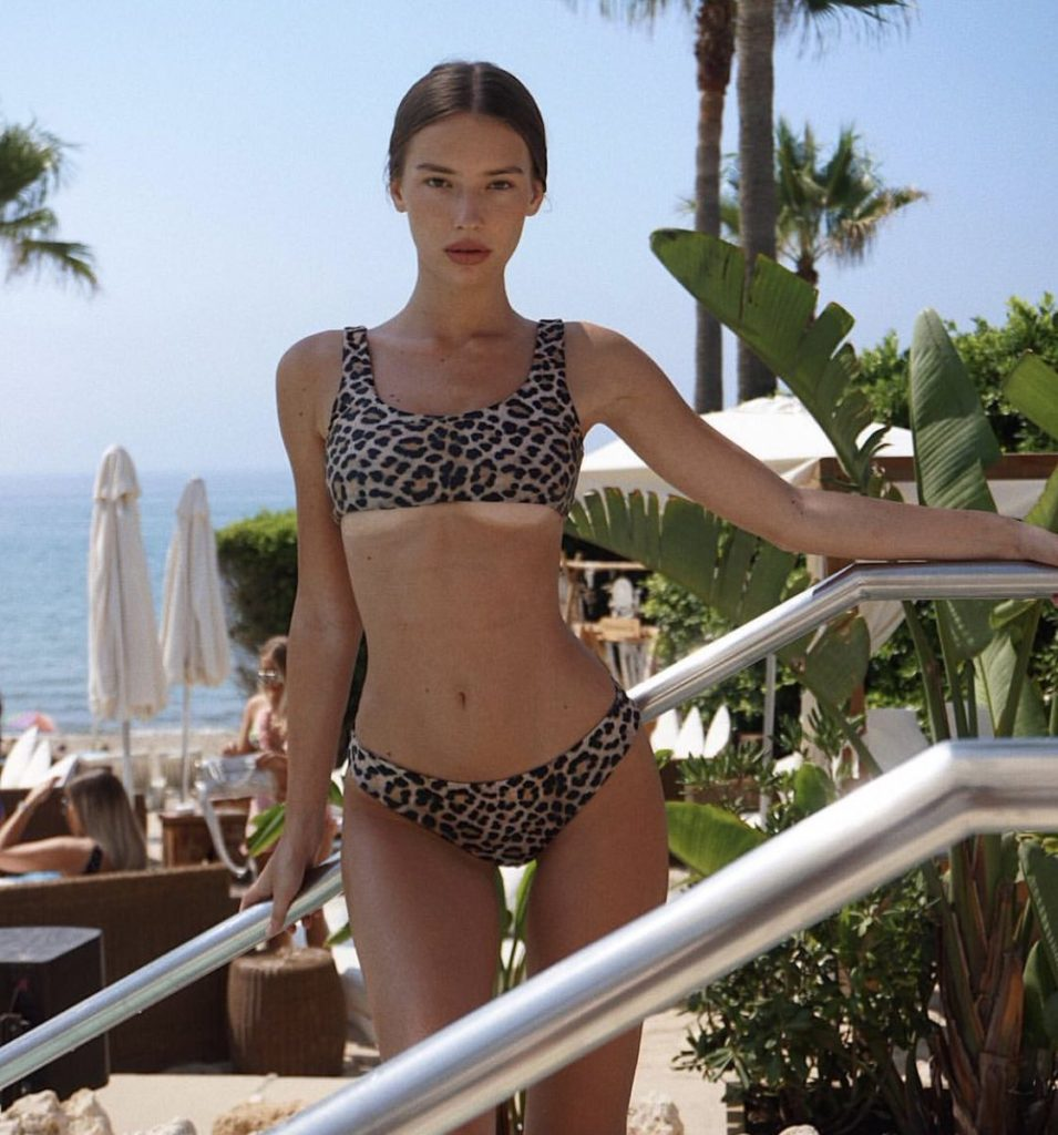 Dorina Gegiçi Hot Leoparskin Bikini Pics 955x1024 - Dorina Gegiçi Net Worth, Pics, Wallpapers, Career and Biography