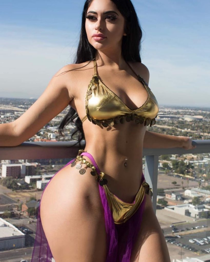 Jailyne Ojeda Ochoa Hot Golden Bikini Pics 819x1024 - Jailyne Ojeda Ochoa Net Worth, Pics, Wallpapers, Career and Biography