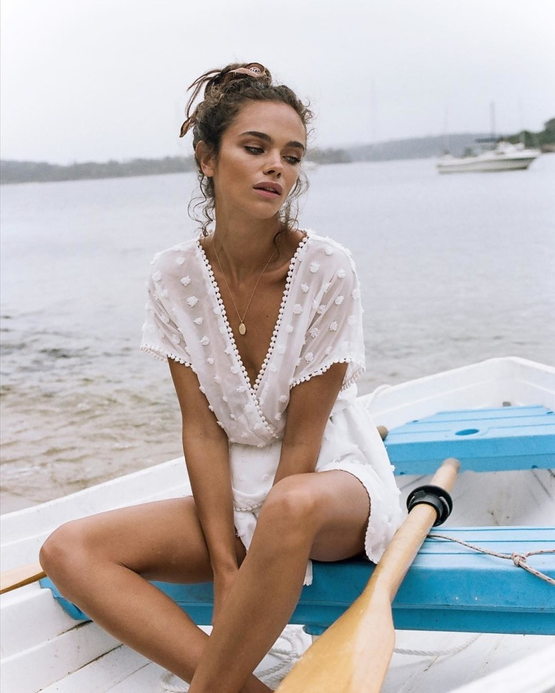 Jena Goldsack Modeling Outdoors - Jena Goldsack Net Worth, Pics, Wallpapers, Career and Biography