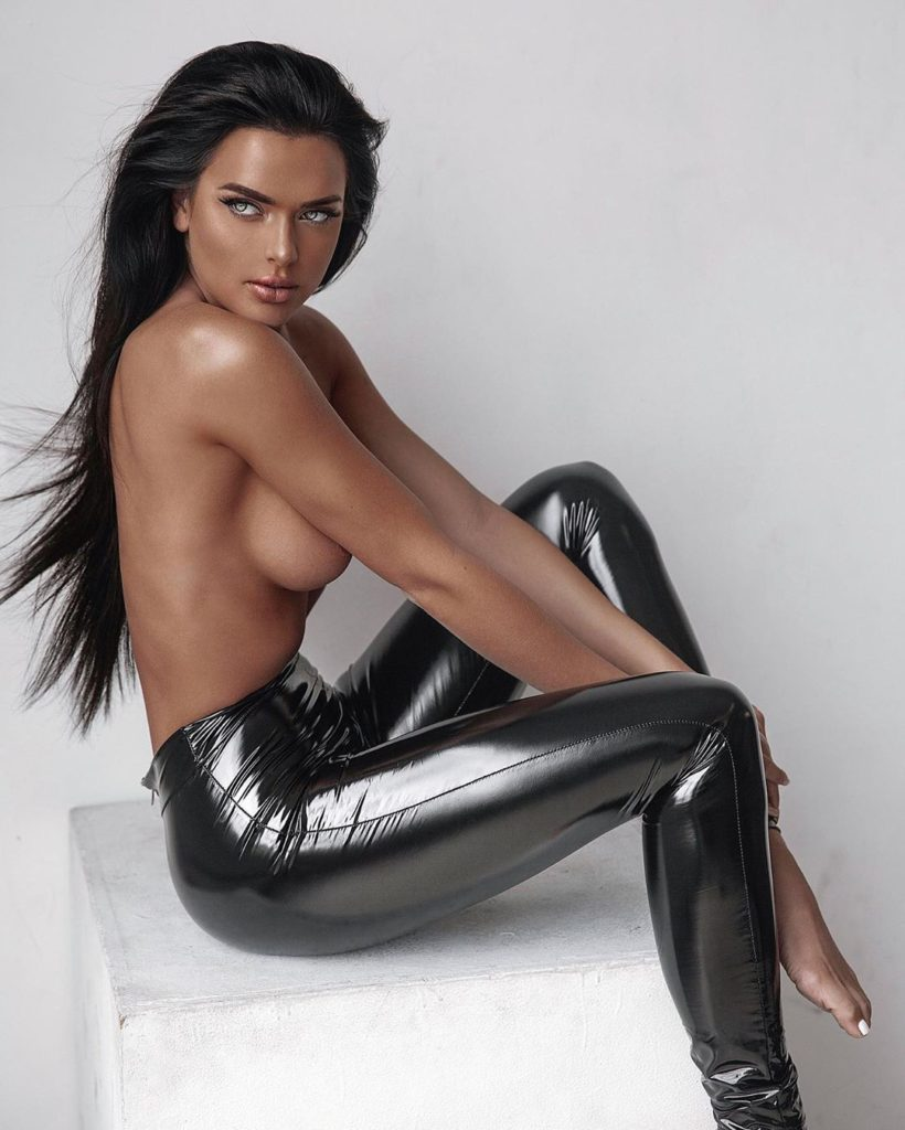 Kelsie Jean Smeby Hot Latex Trousers 820x1024 - Kelsie Jean Smeby Net Worth, Pics, Wallpapers, Career and Biography