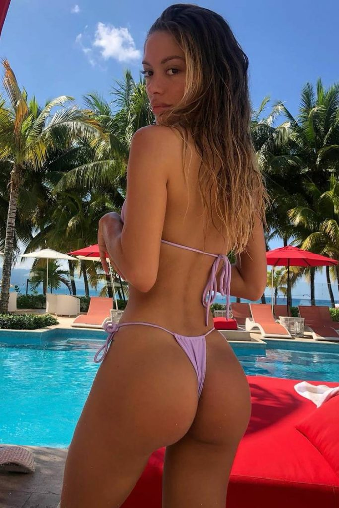 Mathilde Tantot Hot Tanga Pics By The Pool 683x1024 - Mathilde Tantot Net Worth, Pics, Wallpapers, Career and Biography