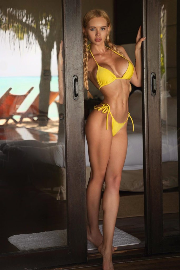 Olya Abramovich Hot Yellow Bikini Images 683x1024 - Olya Abramovich Net Worth, Pics, Wallpapers, Career and Biograph