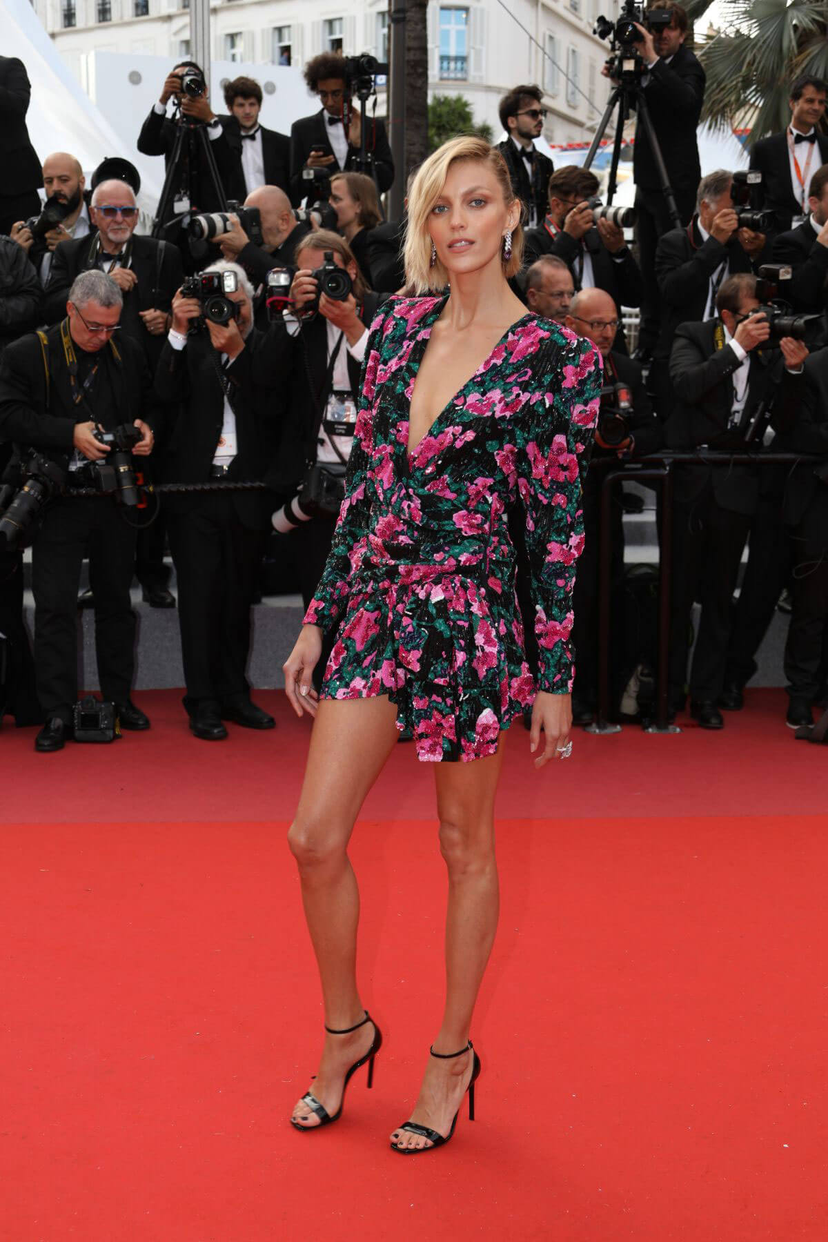 Anja Rubik Cannes Red Carpet - Anja Rubik Cannes Red Carpet