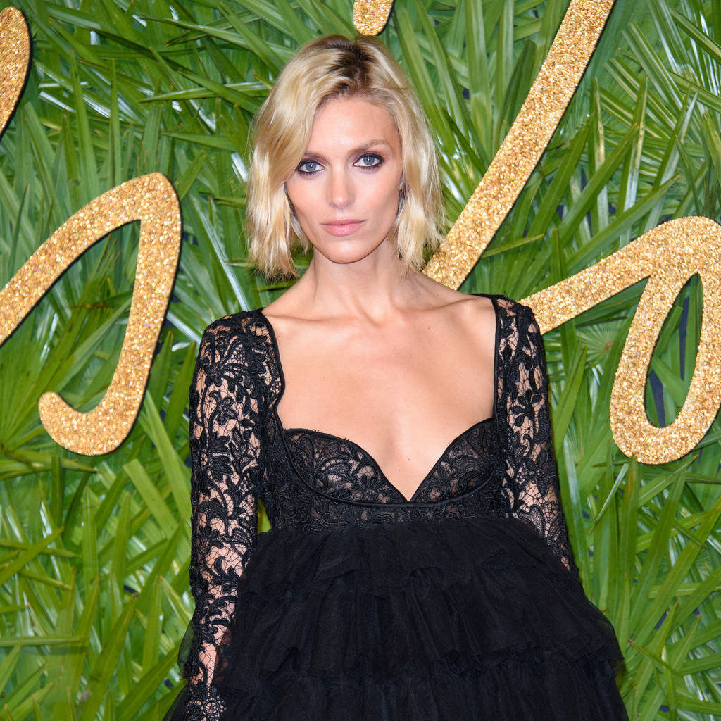 Anja Rubik Gala 1024x1024 - Anja Rubik Hot Gala Dress