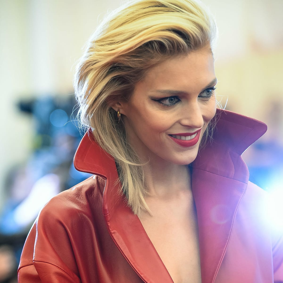 Anja Rubik Hot Blonde Hair - Anja Rubik Hot Blonde Hair