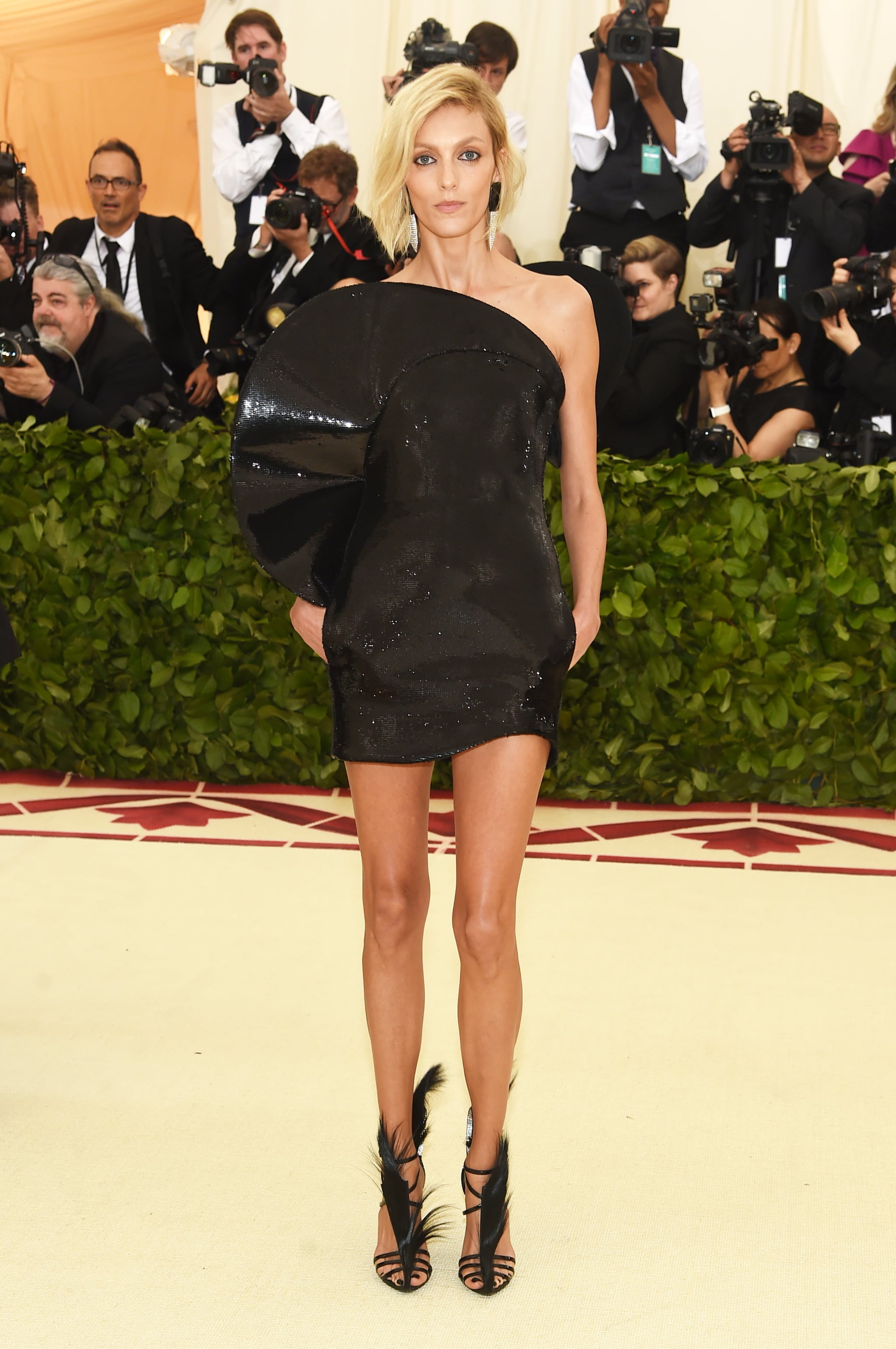 Anja Rubik Hot Gala Dress - Anja Rubik Hot Gala Dress