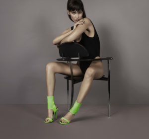 Bella Hadid Modeling On The Chair
