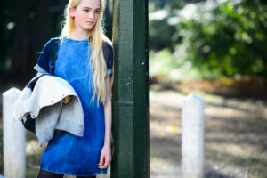 Jean Campbell Blue Dress scaled