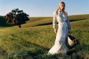 Jean Campbell Outside On The Grass