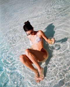 Kendall Jenner In The Sea