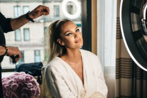 Candice Swanepoel Hairdressing Pic scaled