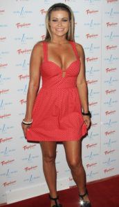 Carmen Electra Hot Red Dress scaled