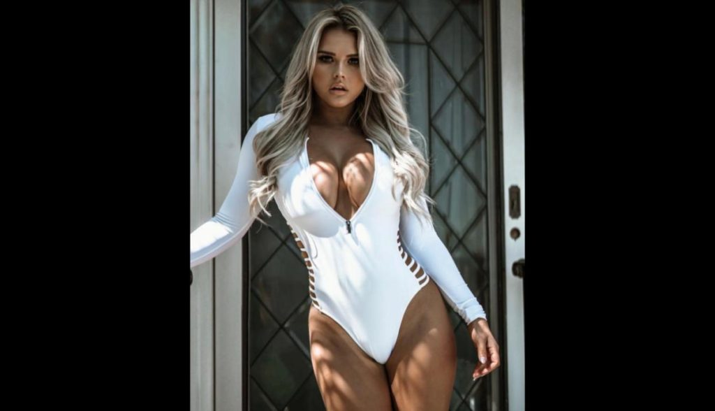 Kinsey Wolanski Hot White Swimsuit 1024x588 - Kinsey Wolanski Net Worth, Pics, Wallpapers, Career and Biography