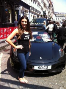 Lucy Pinder Outside Pics