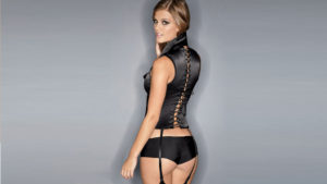 Nina Agdal Hot Underwear Modeling Pictures