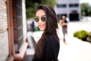 Actress Shay Mitchell scaled