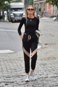 Romee Strijd Sports Suit scaled