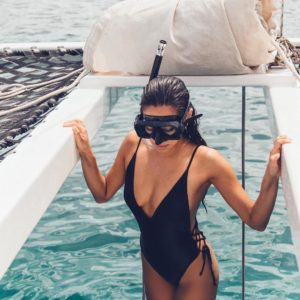 Shay Mitchell Hot Swimsuit