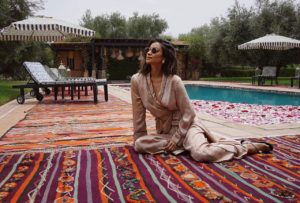Shay Mitchell Outside Pose