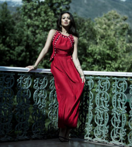 Shay Mitchell Red Dress
