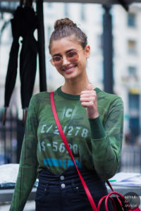 Taylor Hill Street Style