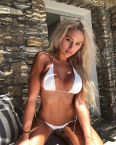 Georgina Gentle White Bikini 240x300 - Lyna Perez Net Worth, Pics, Wallpapers, Career and Biography