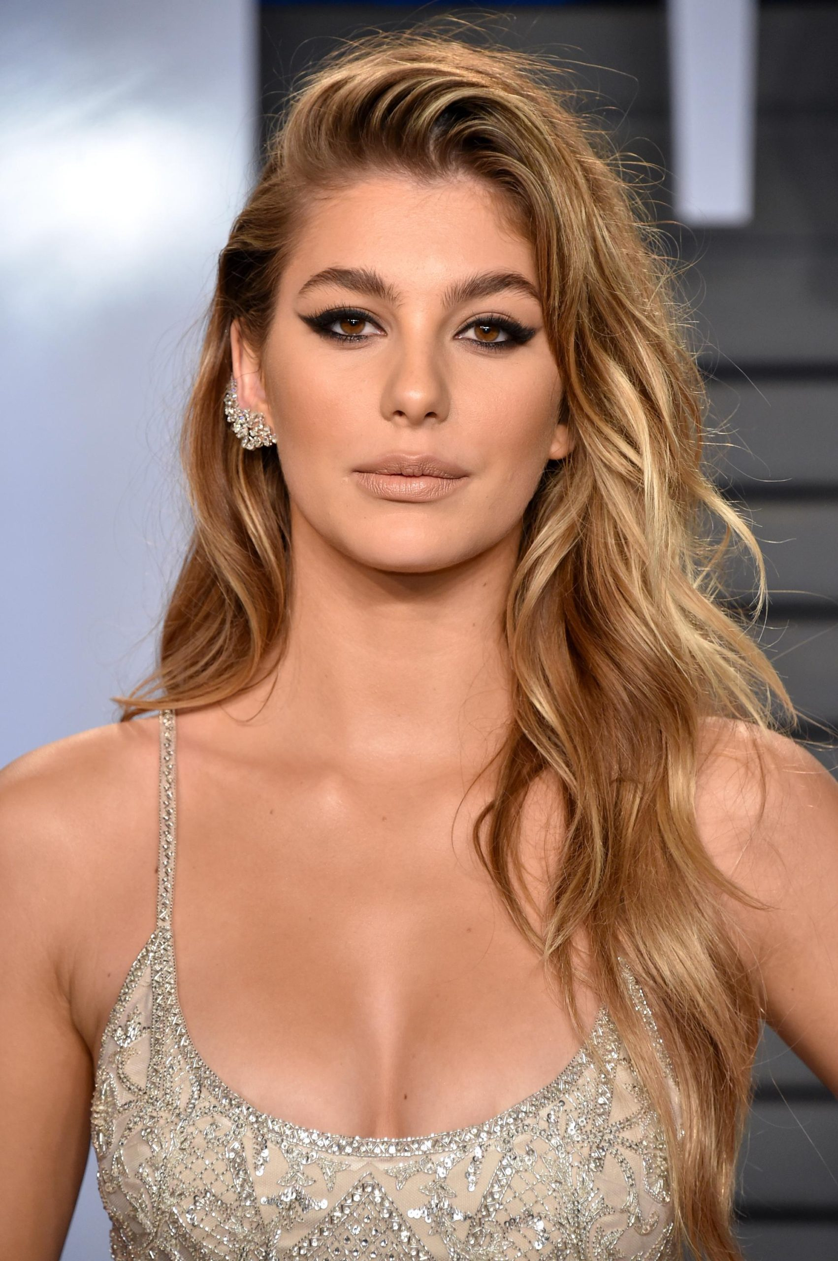 Camila Morrone Smoky Eyes scaled - Camila Morrone Net Worth, Pics, Wallpapers, Career and Biography