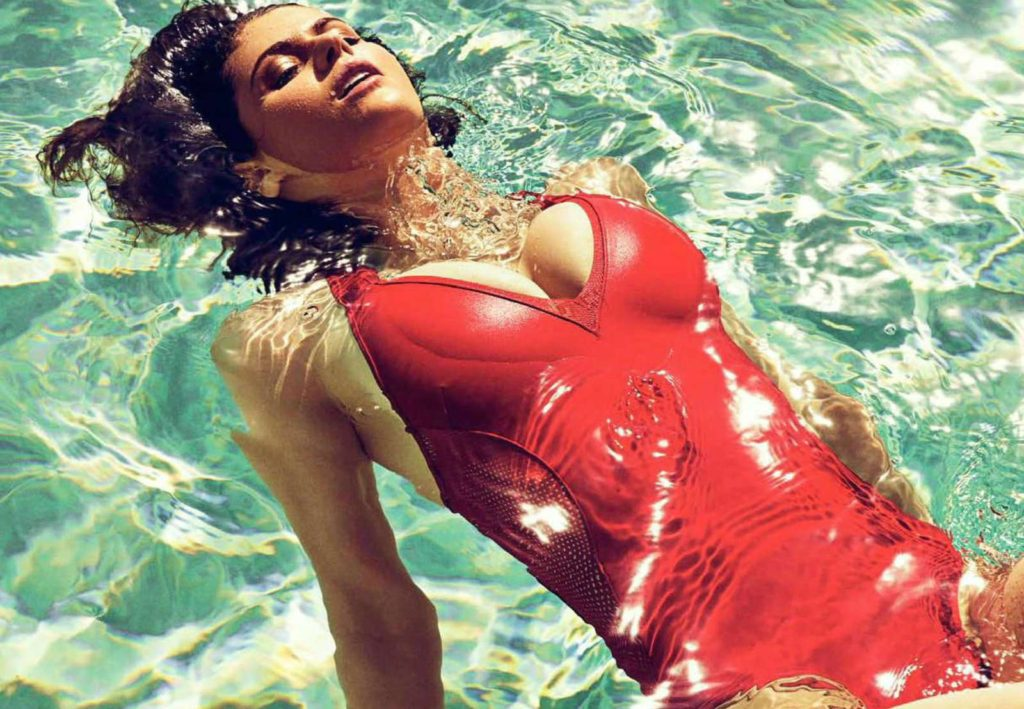 Alexandra Daddario Hot Red Swimsuit Wallpapers 1024x709 - Alexandra Daddario Net Worth, Pics, Wallpapers, Career and Biography